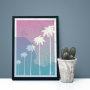 Poster - The Palm Trees A4
