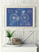 Poster - Road Bicycle