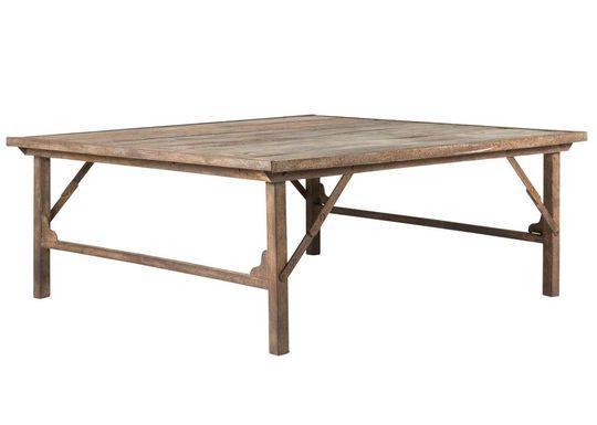 Soffbord - Vintage trä och metall i gruppen RUM   Trädgård   balkong   Bord  hos 0a5d7256ebde4