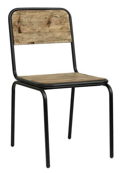 Stol Vintage SOHO Svart – Nordal