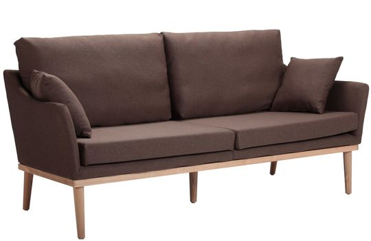Soffa Nordic 3-sits - Brun i gruppen RUM / Vardagsrum / Soffor hos Reforma Sthlm  (S1008A-3-brown)