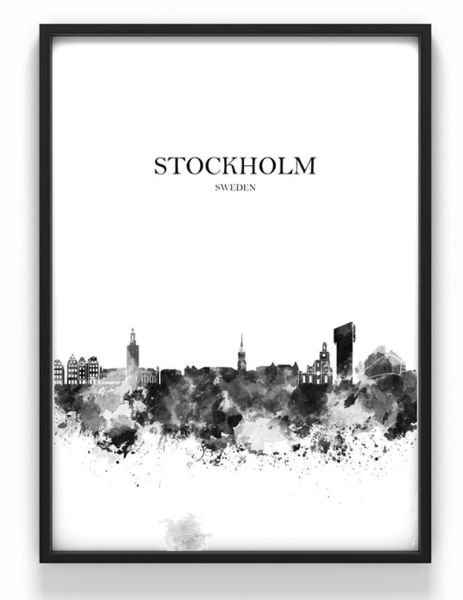 poster stockholm 30 x 40 cm reforma sthlm. Black Bedroom Furniture Sets. Home Design Ideas