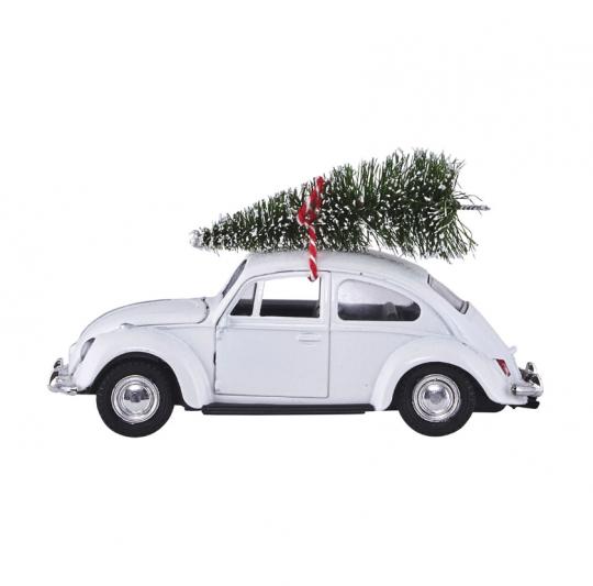 Juldekoration - Bil med julgran i gruppen RUM / Vardagsrum / Dekoration hos Reforma Sthlm  (ft1000)