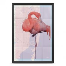 Poster - The Flamingo A4