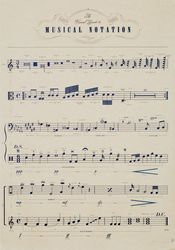 Poster - Musical Notation