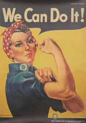 Poster - We can do it Vintage