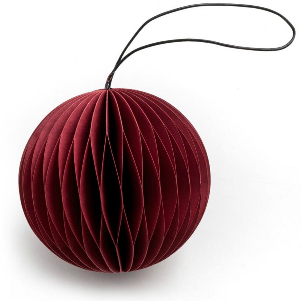 Julgranskula 'Scoop' - Red