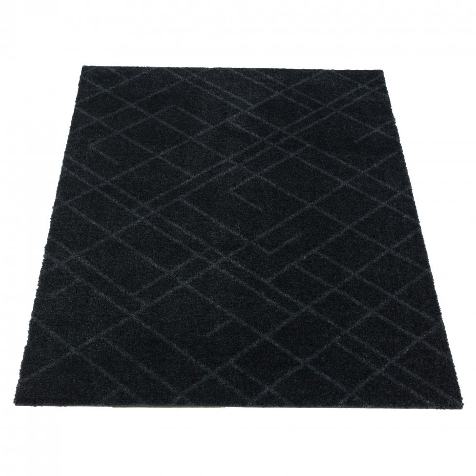 Hallmatta 'Lines' - Grå 90x60 cm
