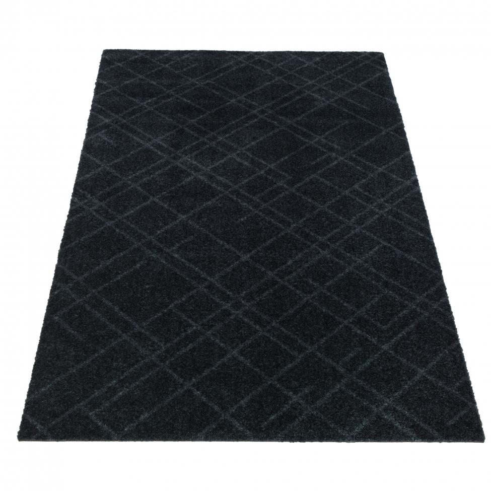 Hallmatta 'Lines' - Grå 120x67 cm