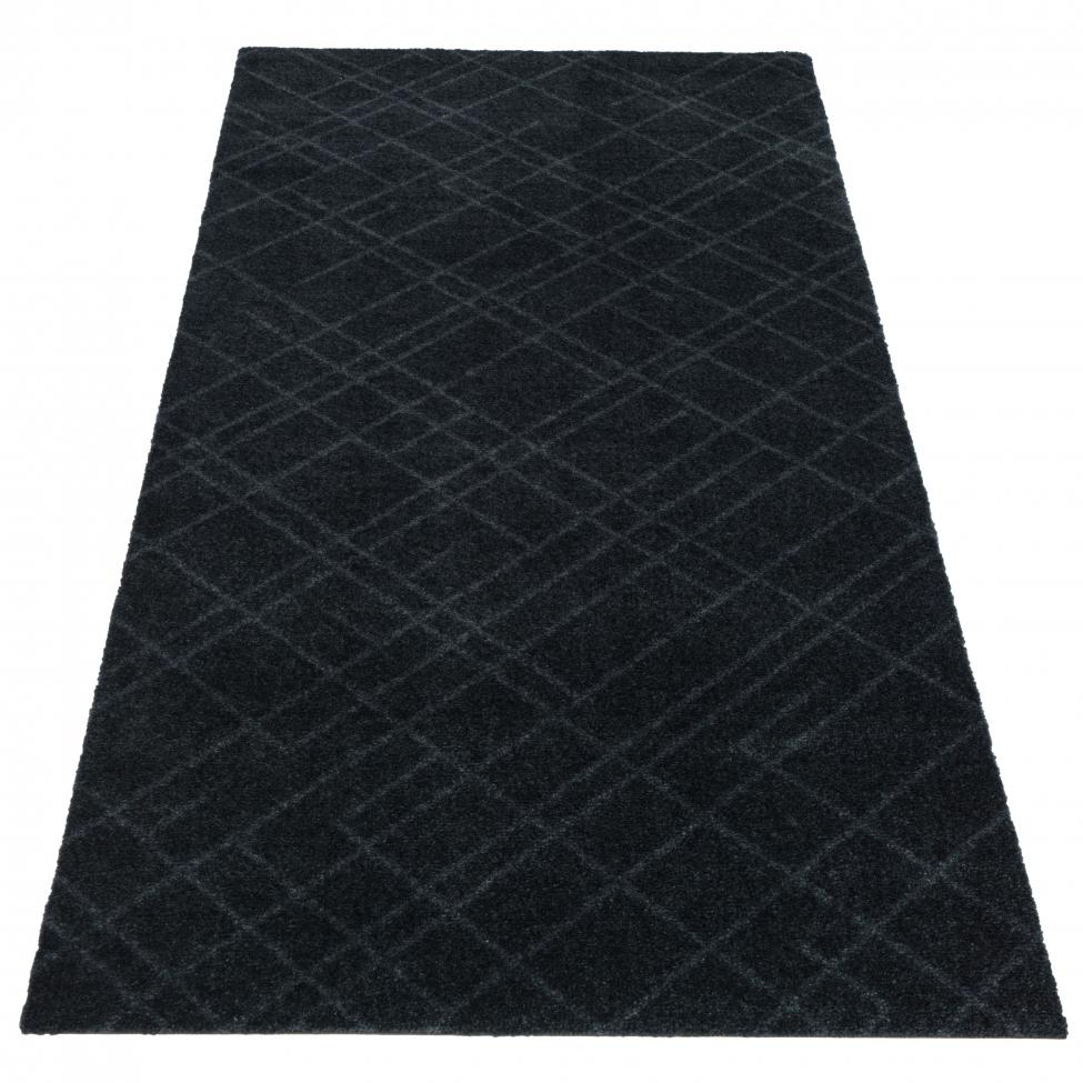 Hallmatta 'Lines' - Grå 150x67 cm