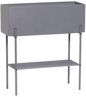 Kruka - Metall/grå