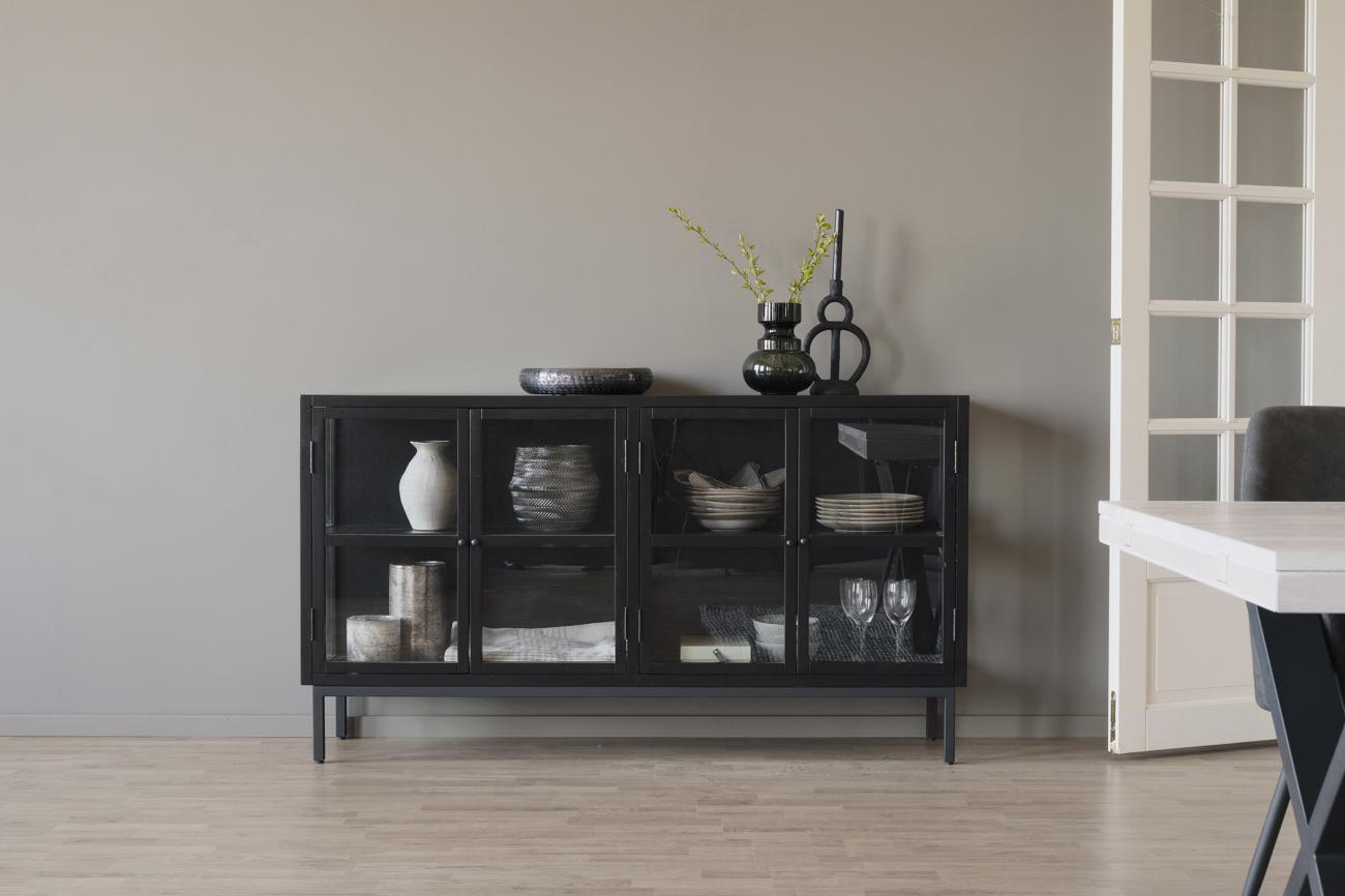 Sideboard MARSHALLE svart Tofta Möbel AB