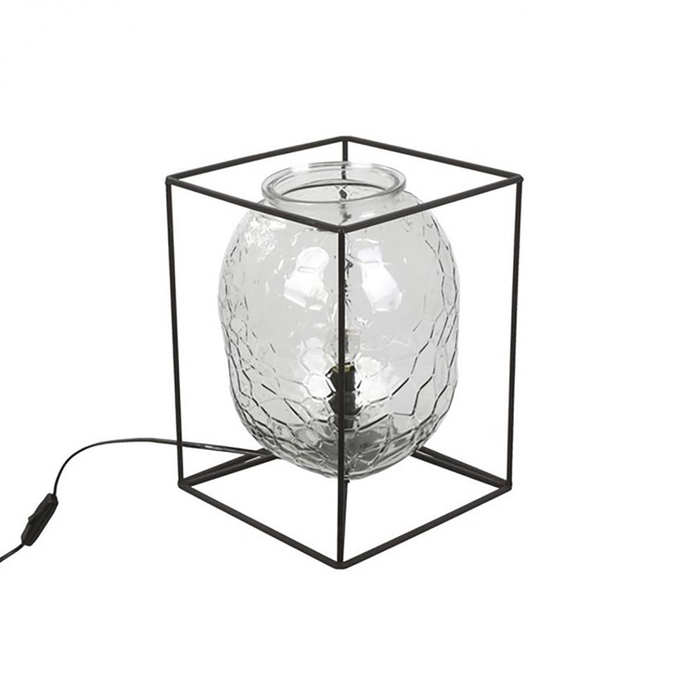 Bordslampa 'Gillstad' - Svart