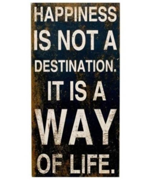Skylt - Happiness