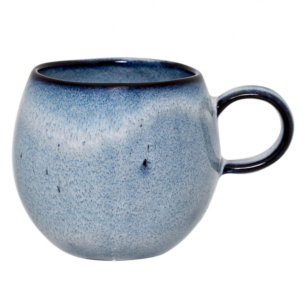 Mugg 'Sandrine' Ø 8.5 cm - Blå