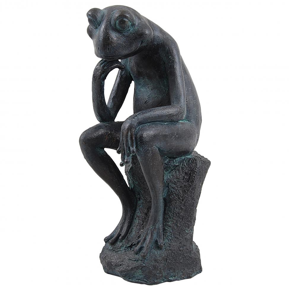 Skulptur 'Thinking Frog