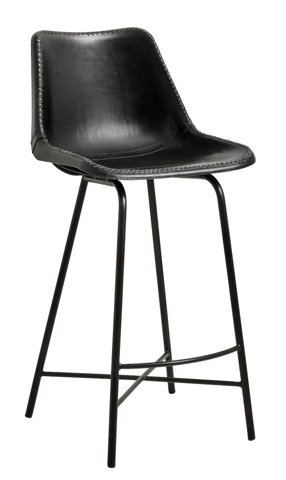 Barstol - Läder/Järn