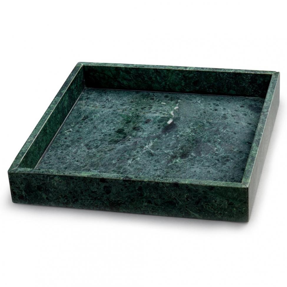Bricka 'Marblelous' - Grön L