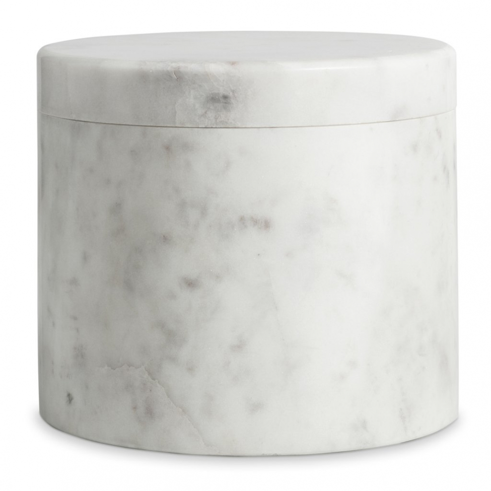 Behållare 'Marblelous' - Vit L
