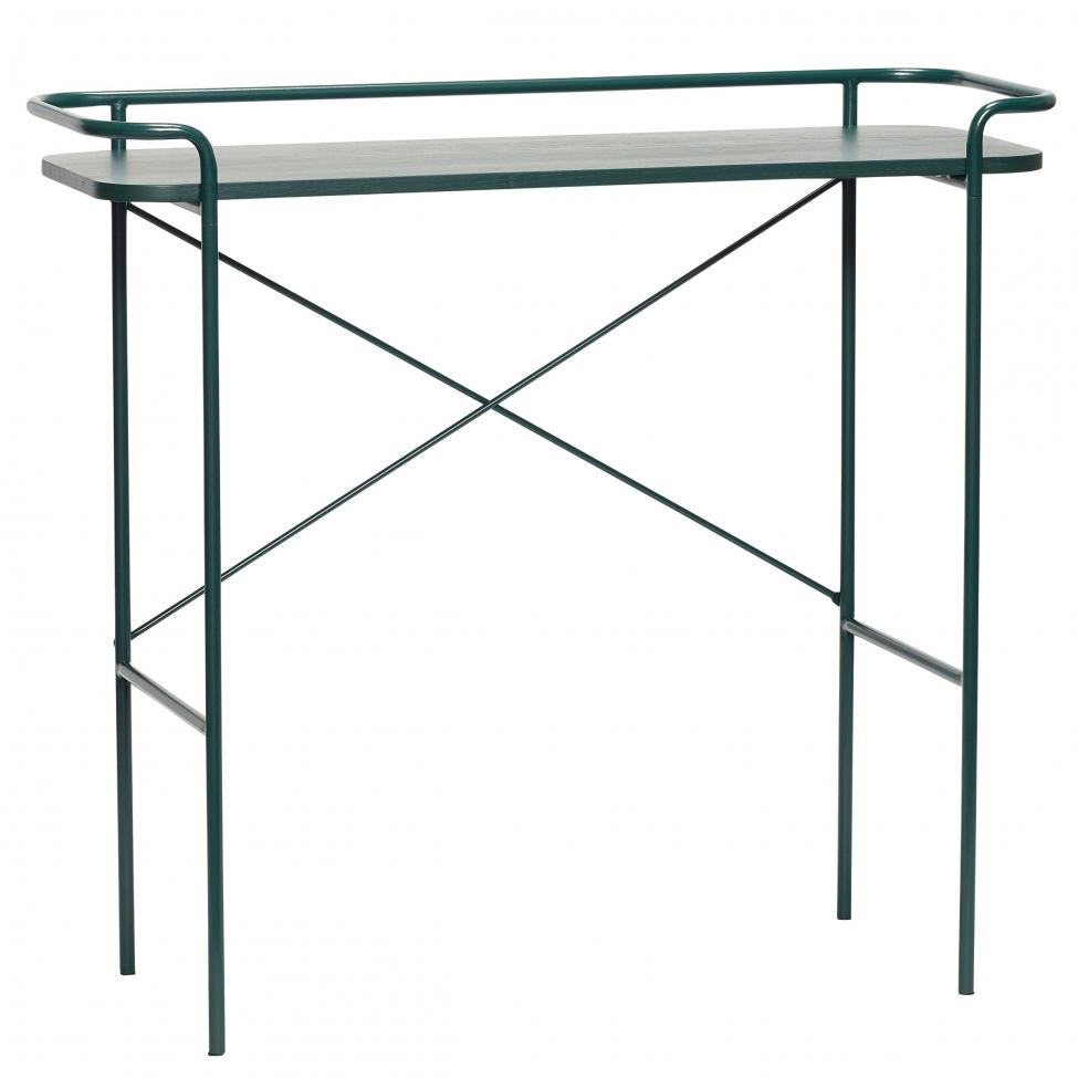 Konsolbord - Metall/Grön