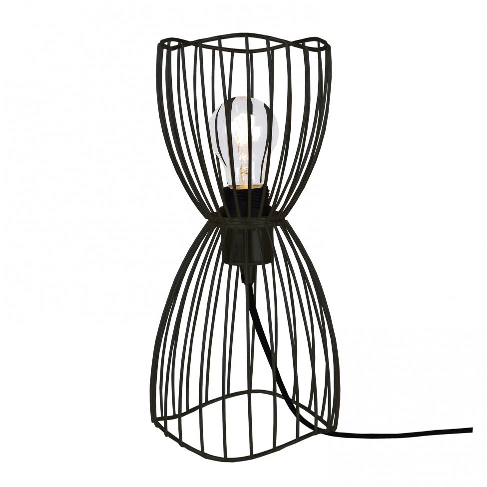 Bordslampa/Taklampa 'Mini Ray' - Svart