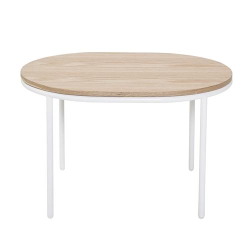 Soffbord Vega - Vitt och trä