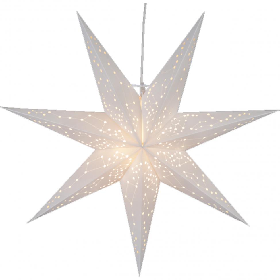 Julstjärna 'Galaxy' - Vit