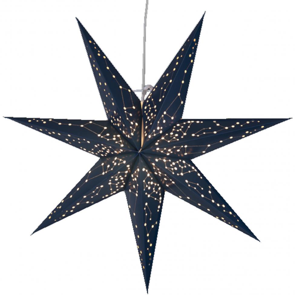 Julstjärna 'Galaxy' - Blå