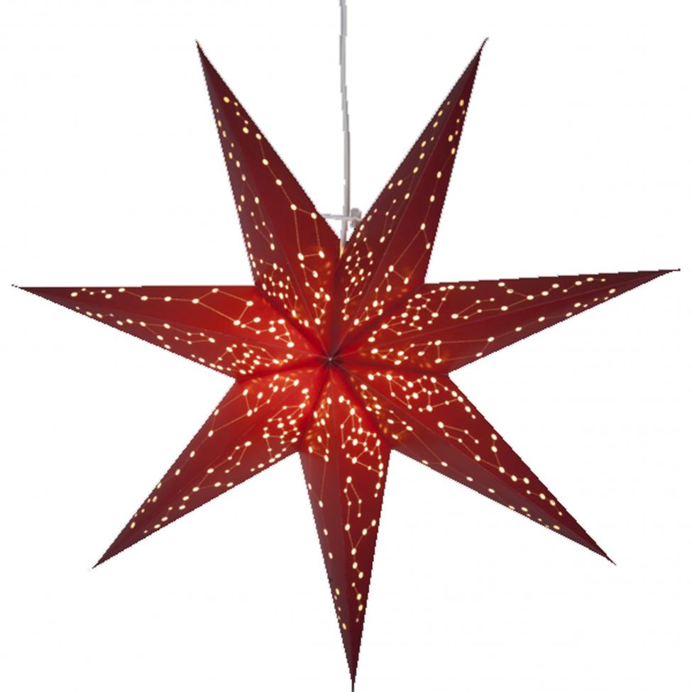 Julstjärna 'Galaxy' - Röd