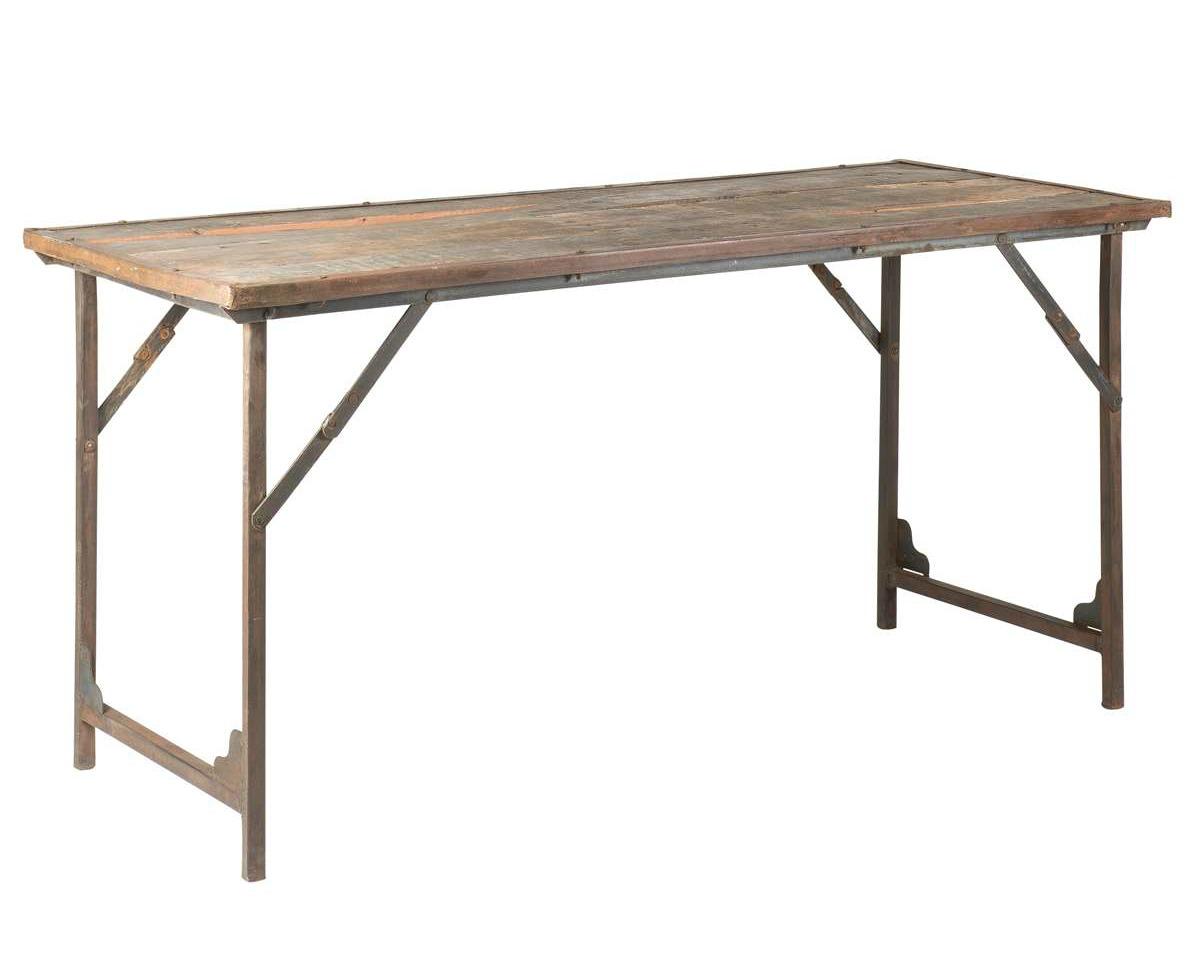 Sideboard - Vintage trä och metall
