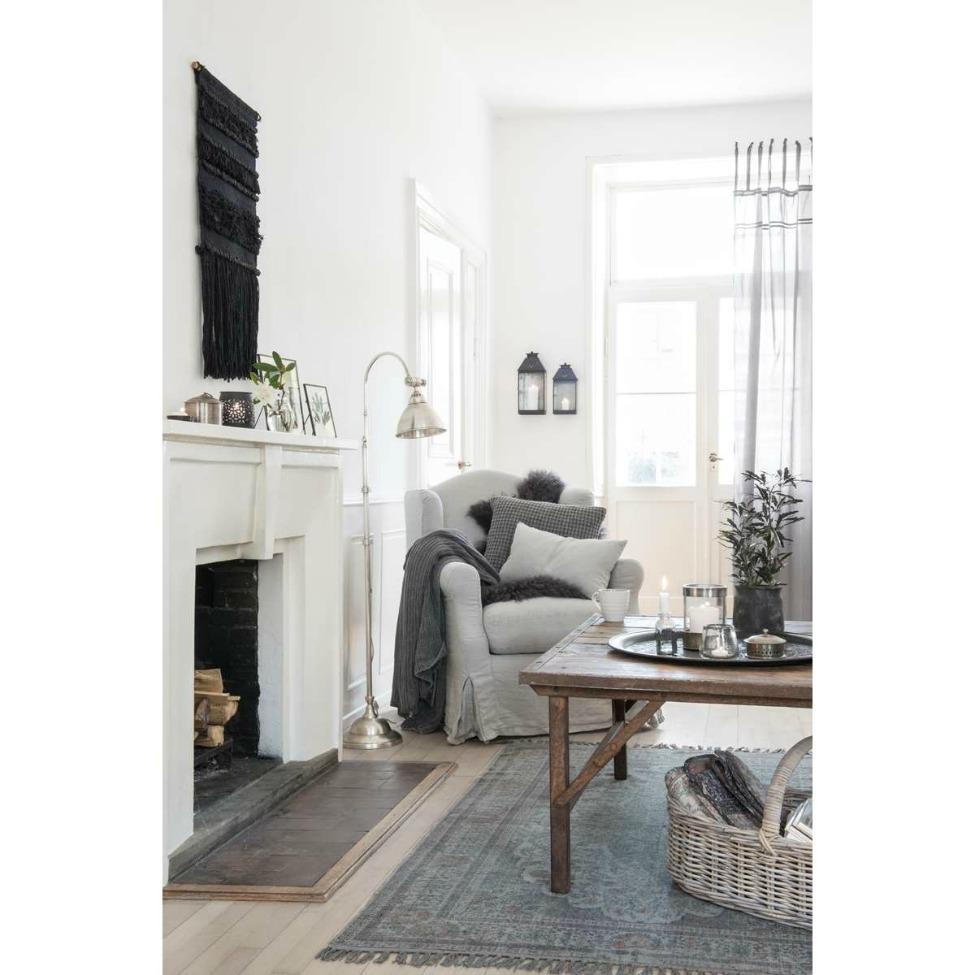 Unikt soffbord   trä och metall   köp möbler och inredning på ...