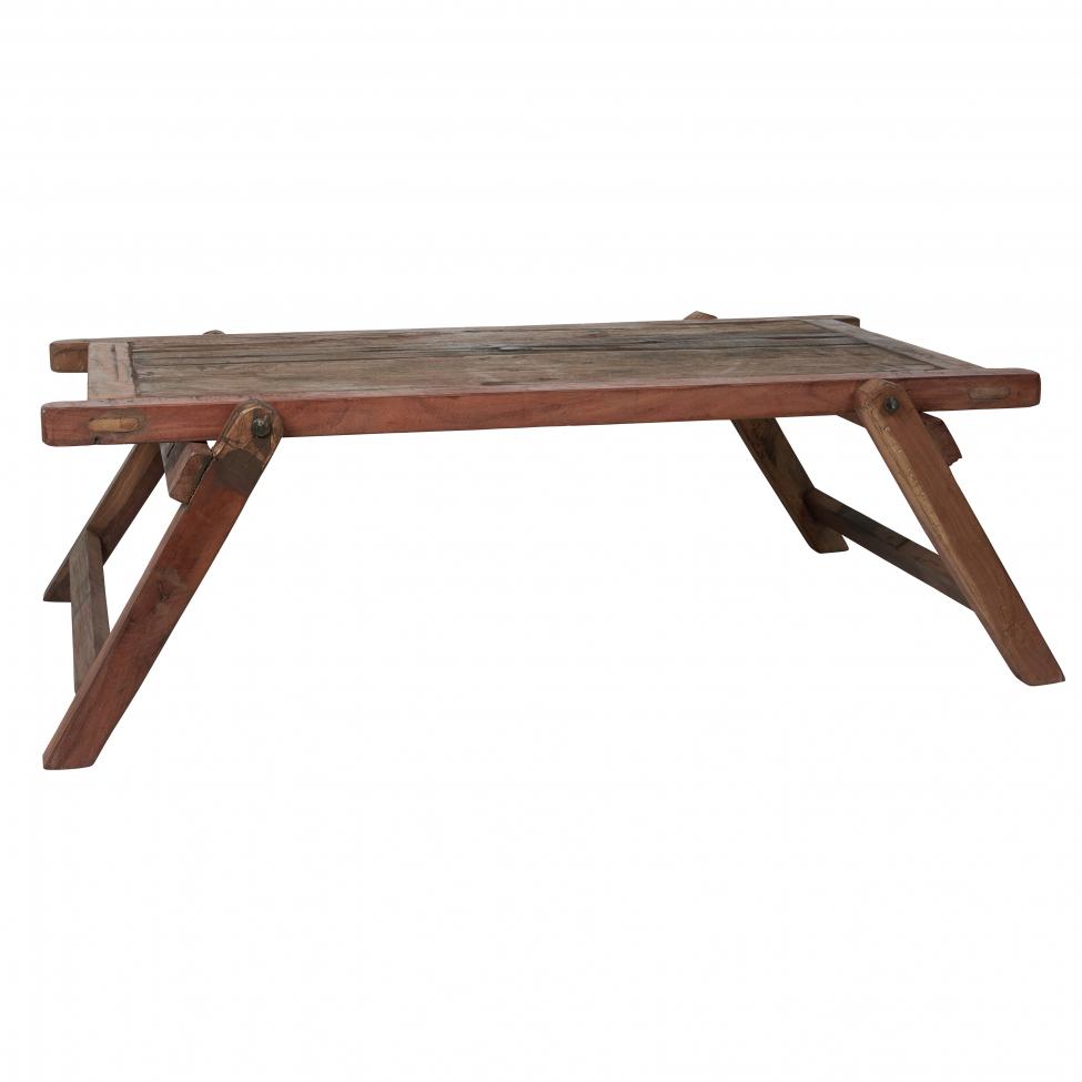 Soffbord 'Unik' - Vintage trä