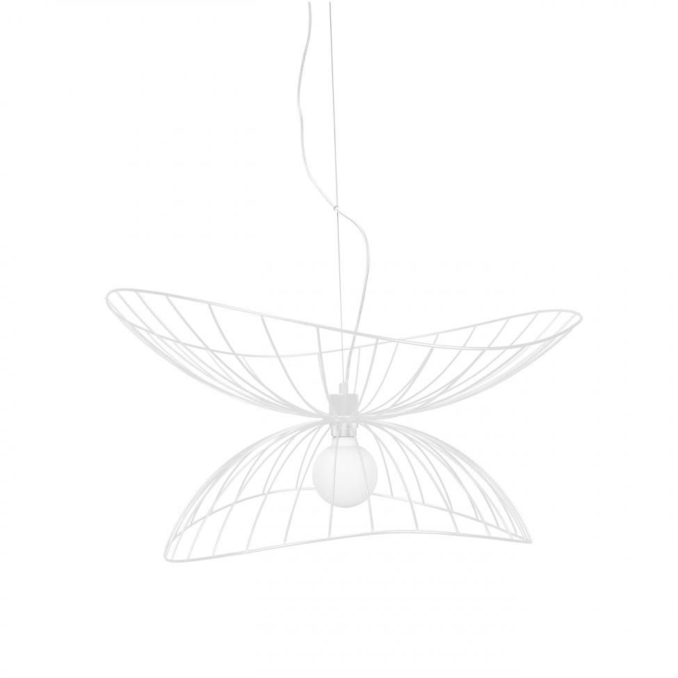 Taklampa 'Ray' - Vit 70cm