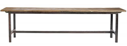 Bänk - RAW (L) Trä och järn