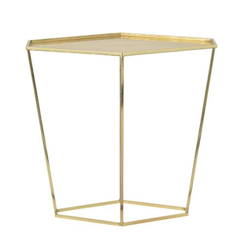 Soffbord soffbord guld : Bord - Diamant Guld Bloomingville | Bord -Vardagsrum