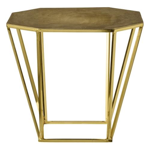 Soffbord soffbord guld : Bord ̴tta kanter - Borstad guld РBloomingville РReforma Sthlm ...