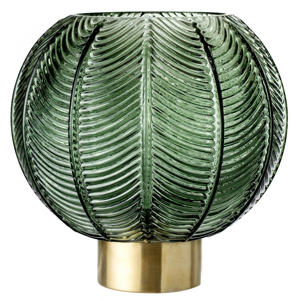 Vas - Grön/Glas