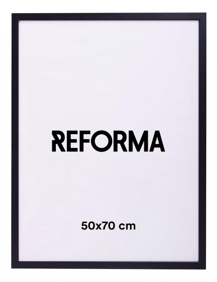 Posterram - Svart 50x70