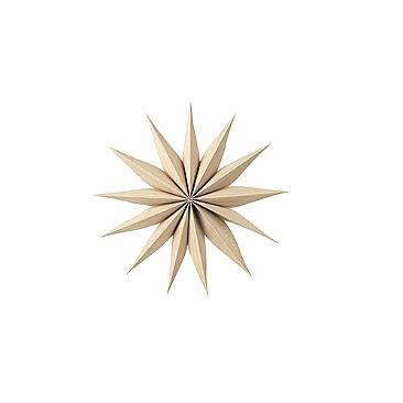 Julstjärna 'Venok' - Ljust Trä (S)
