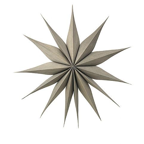 Julstjärna 'Venok' - Mörkt trä (L)