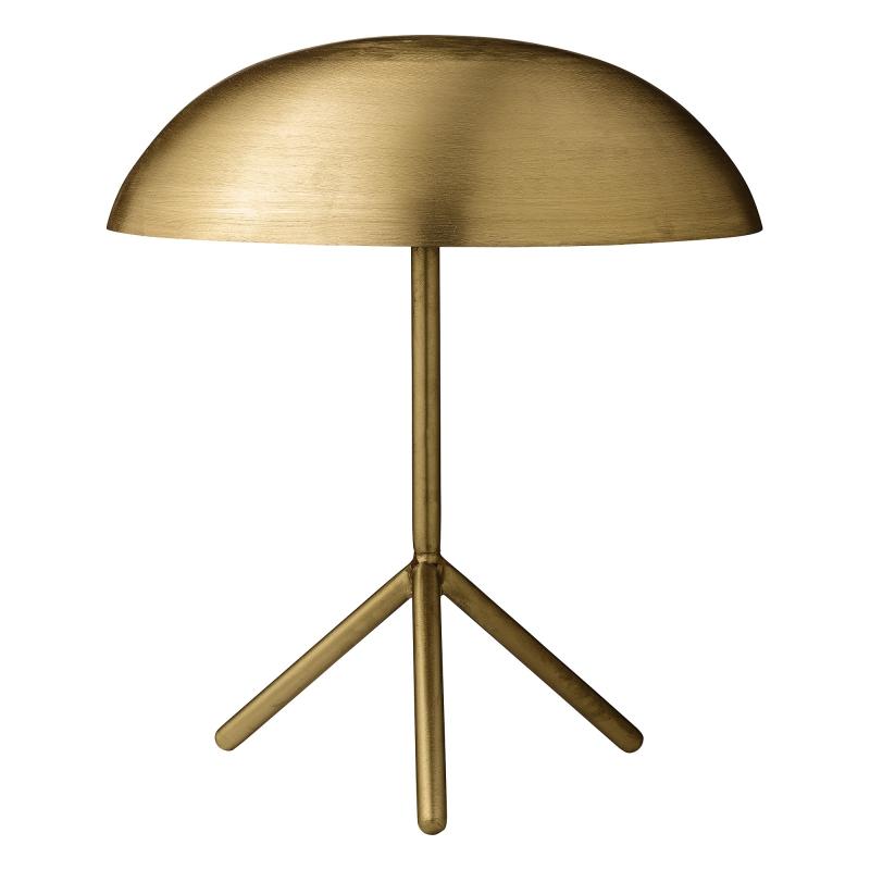 Bordslampa - Borstat Guld
