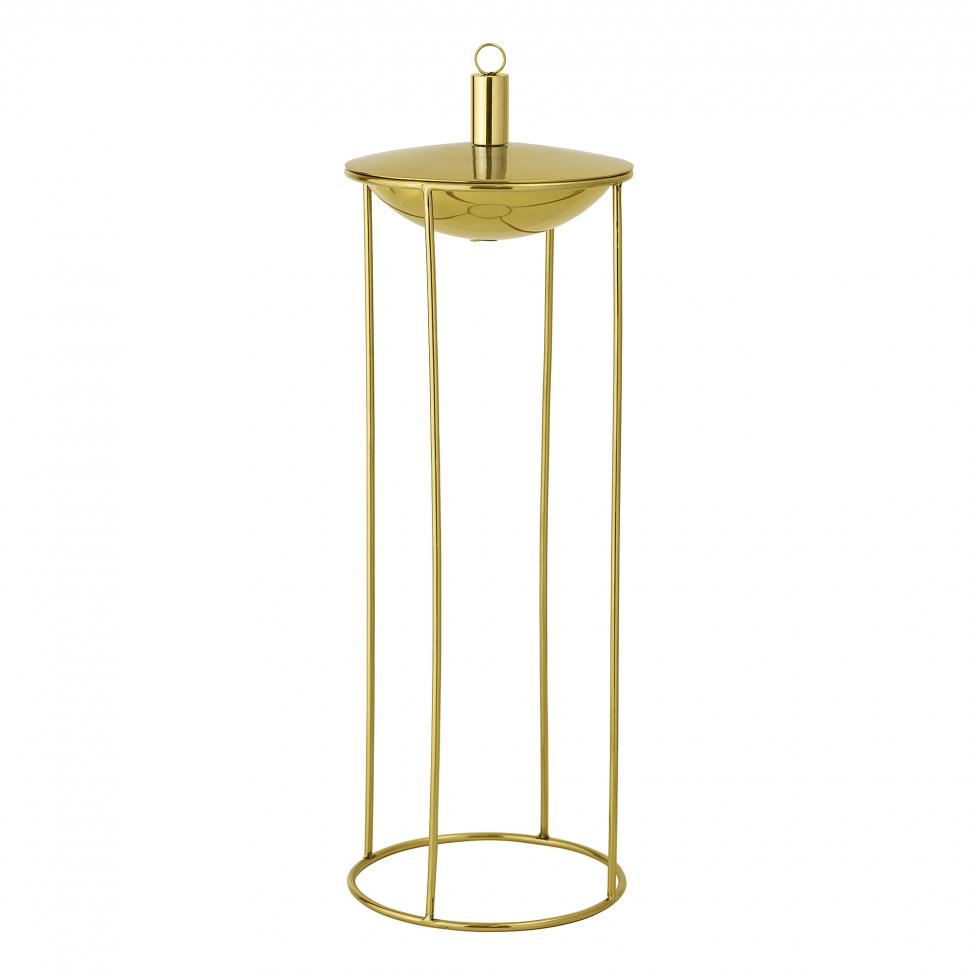Trädgårdslampa 'Olie' - Guld