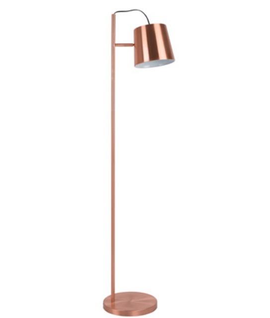 golvlampa 39 buckle 39 koppar 28x3 cm reforma sthlm. Black Bedroom Furniture Sets. Home Design Ideas