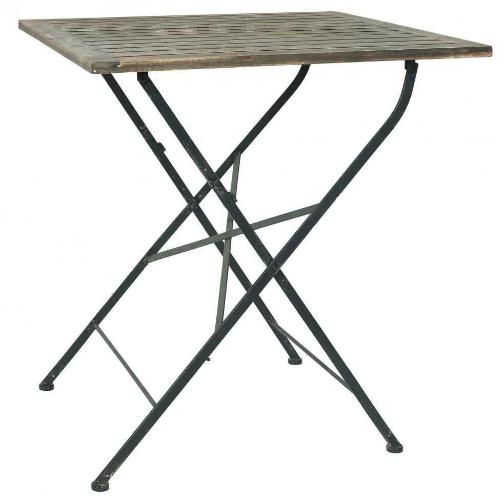 Cafebord - Vintage/Järn 70x70