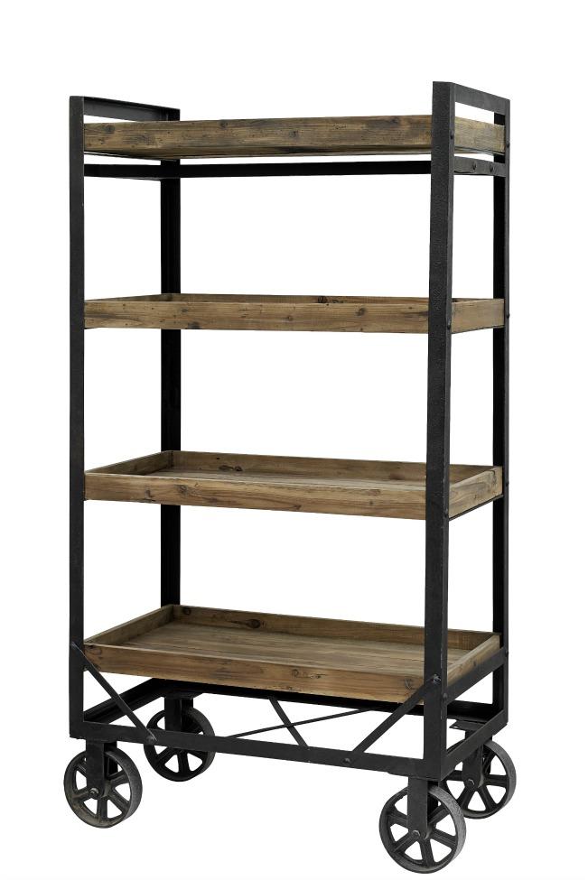 rullvagn honk svart tr reforma sthlm. Black Bedroom Furniture Sets. Home Design Ideas