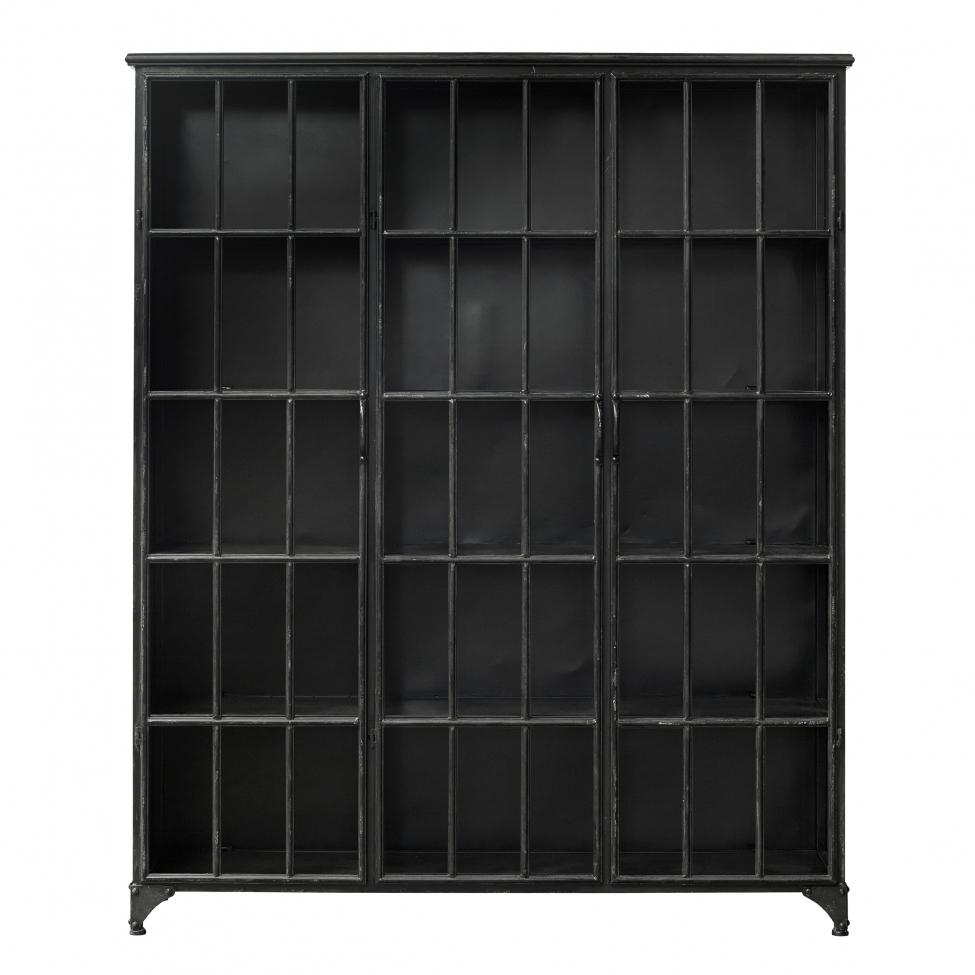 Skåp 'Downtown Black' 180x150