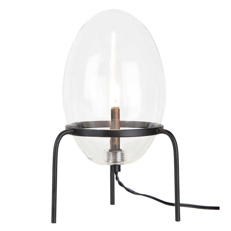 Bordslampa 'Drops' - Svart