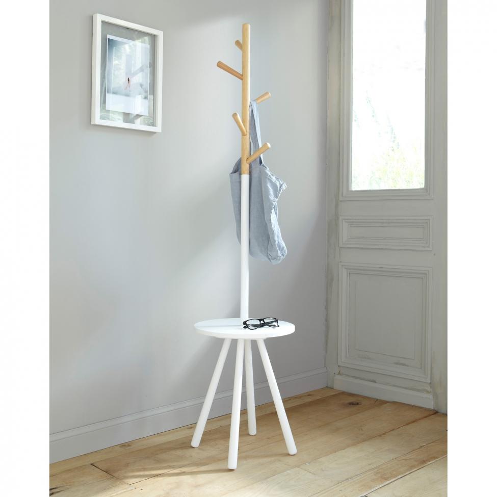 Portemanteau Design : Klädhängare table tree vit reforma sthlm