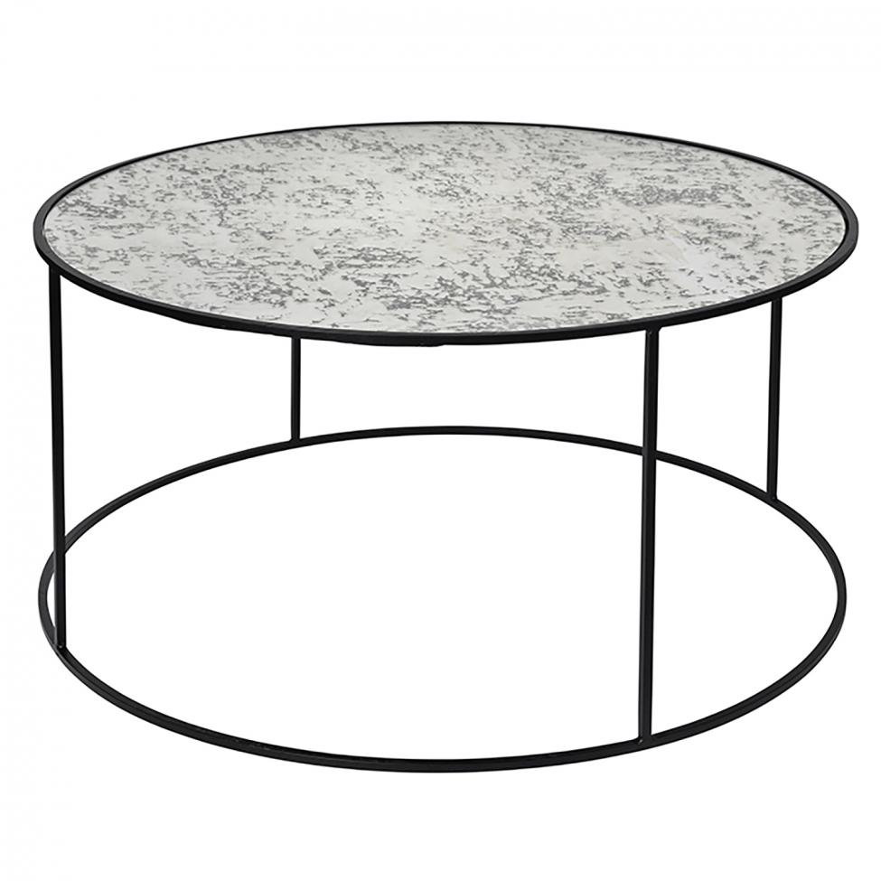 Soffbord 'Stends' - Järn/Glas