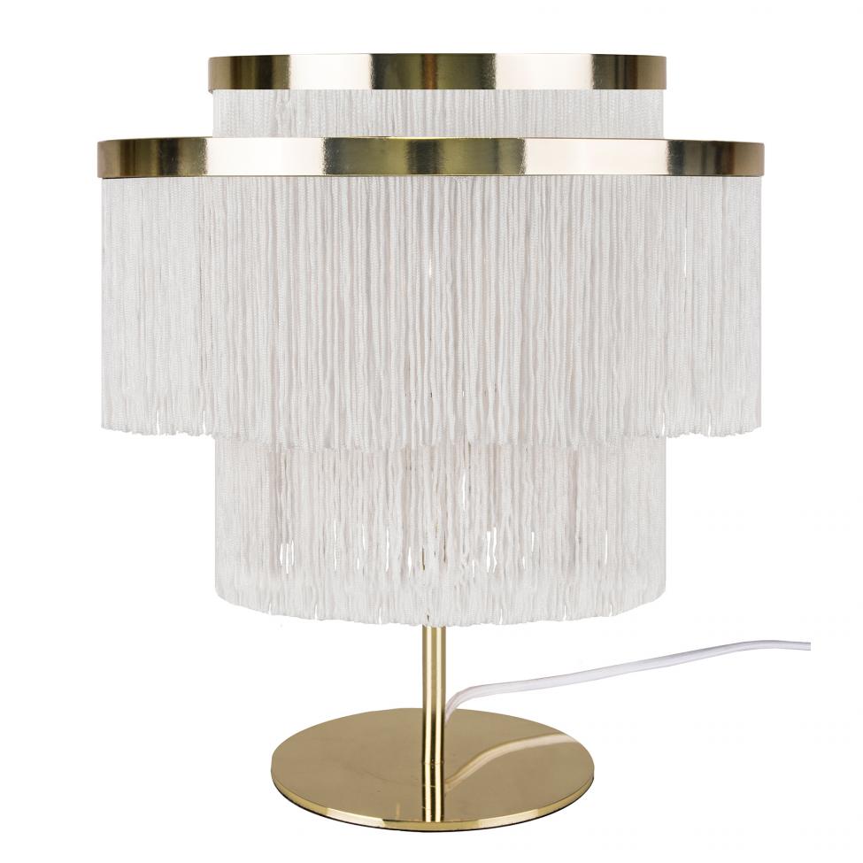 Bordslampa 'Frans' - Vit